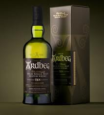Ardbeg 10-Year from Port Ellen on the Isle of Islay